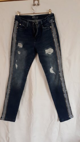 MAC Jeans Skinny Jeans silver-colored-slate-gray