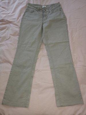 Mac Jeansy z prostymi nogawkami jasnoszary-szary