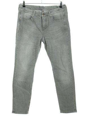 MAC Jeans High Waist Jeans hellgrau Casual-Look