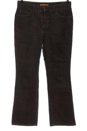 MAC Jeans Jeans taille basse noir style décontracté