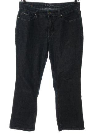 MAC Jeans Jeansy 7/8 jasnoszary W stylu casual