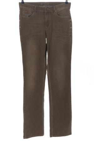 MAC Jeans Jeans taille basse brun style décontracté