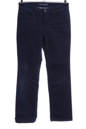MAC Jeans Jeans taille basse bleu style décontracté tissu mixte
