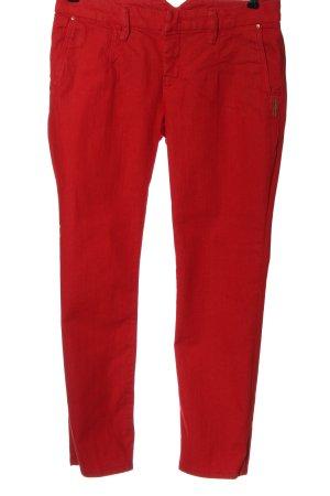 MAC Jeans Jeans taille basse rouge style décontracté