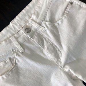 Mac Jeansy 7/8 biały