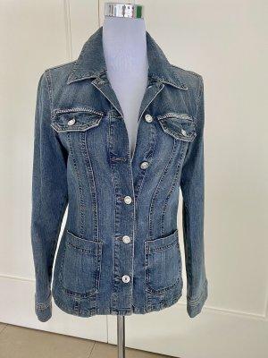 MAC Jeans Jacke mit Strassknöpfen