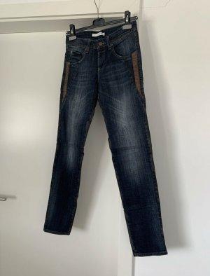MAC Jeans Jeanshose Modell Sexy Slim Snake Leather