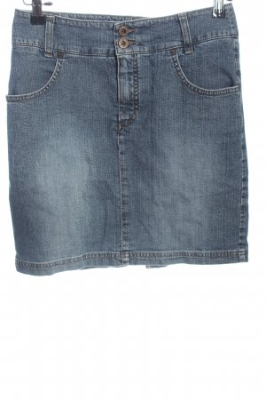 MAC Jeans Denim Skirt blue casual look