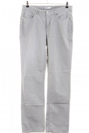 MAC Jeans Spijker flares lichtgrijs casual uitstraling