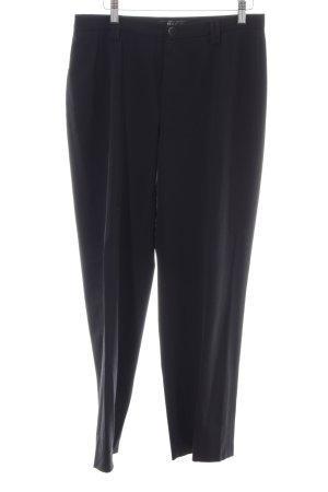 MAC Jeans Karottenhose schwarz Business-Look