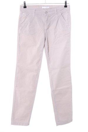MAC Jeans Karottenhose wollweiß Business-Look
