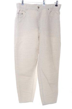 MAC Jeans Karottenhose wollweiß Casual-Look
