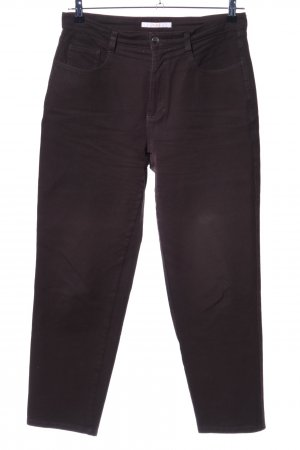 MAC Jeans Karottenjeans dunkelbraun Casual-Look