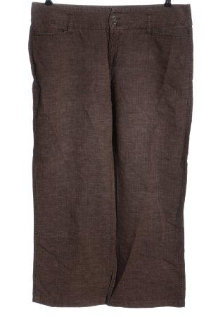 MAC Jeans Pantalón de lino marrón look casual