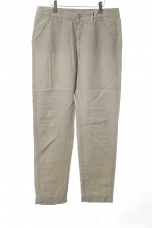MAC Jeans Leinenhose creme Casual-Look