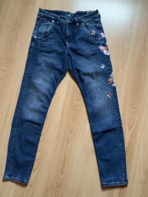 Mac Jeans stretch bleu acier coton