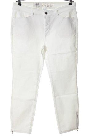 MAC Jeans Röhrenhose weiß Casual-Look