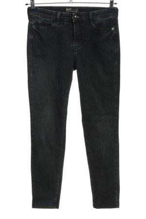 MAC Jeans Röhrenjeans schwarz Casual-Look