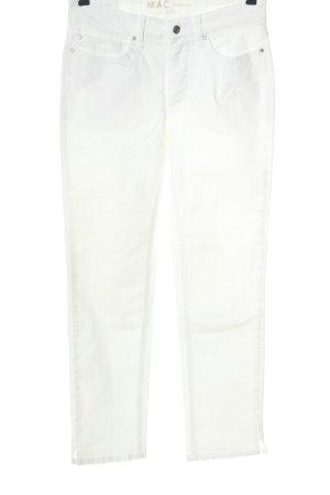 MAC Jeans Röhrenjeans weiß Casual-Look