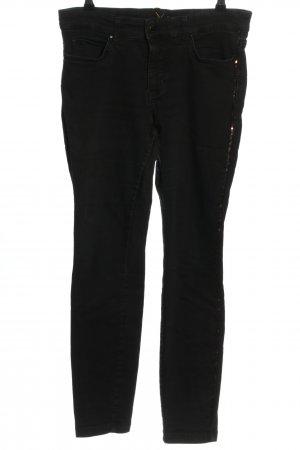 MAC Jeans Skinny Jeans schwarz Casual-Look