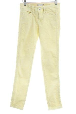 MAC Jeans Skinny Jeans blassgelb-magenta Casual-Look