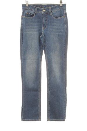 MAC Jeans Skinny Jeans blau schlichter Stil