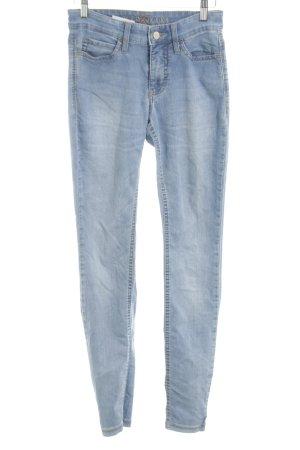 MAC Jeans Skinny Jeans blau Casual-Look