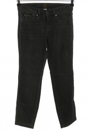 MAC Jeans Slim Jeans schwarz meliert Casual-Look
