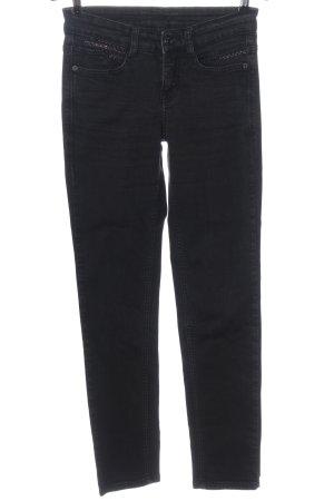 MAC Jeans Slim Jeans schwarz Casual-Look