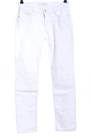 MAC Jeans Slim Jeans weiß Casual-Look