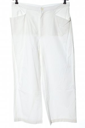 MAC Jeans Stoffhose weiß Casual-Look