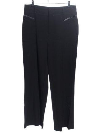 MAC Jeans Stoffhose schwarz Business-Look