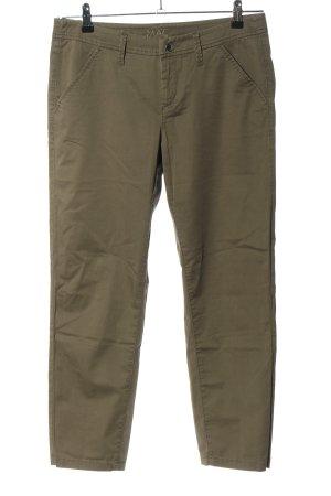 MAC Jeans Stoffhose khaki Casual-Look