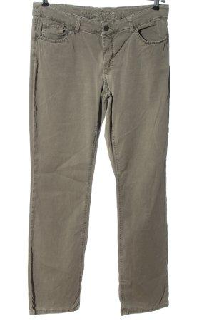 MAC Jeans Stoffhose hellgrau Casual-Look
