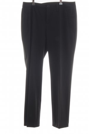 MAC Jeans Stoffhose schwarz Business-Look