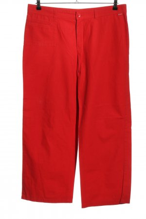 MAC Jeans Stoffhose rot Casual-Look