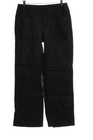 MAC Jeans Stoffhose schwarz Casual-Look