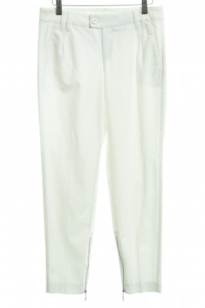 MAC Jeans Stoffhose wollweiß Casual-Look