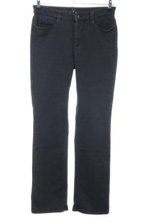 MAC Jeans Straight-Leg Jeans schwarz Casual-Look
