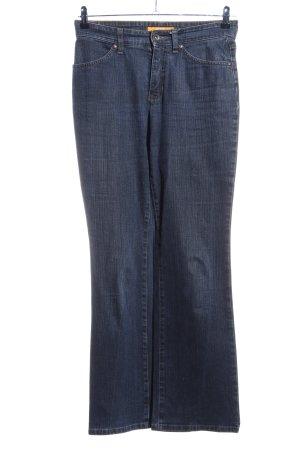 MAC Jeans Straight-Leg Jeans blau Casual-Look