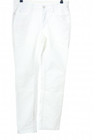 MAC Jeans Straight-Leg Jeans weiß Casual-Look