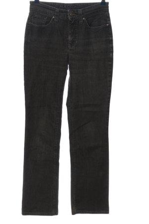 MAC Jeans Straight-Leg Jeans hellgrau Casual-Look