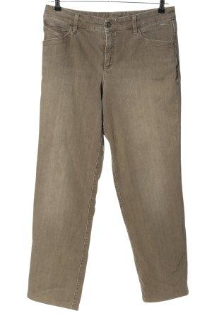 "MAC Jeans Straight-Leg Jeans ""W-8anzmy"" braun"