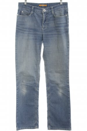 MAC Jeans Straight-Leg Jeans blau Casual-Look