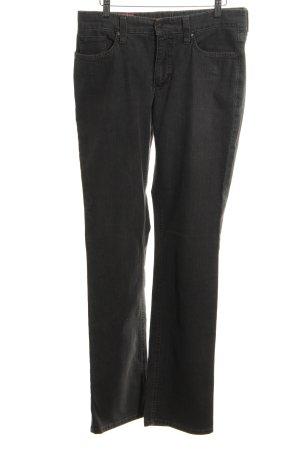 MAC Jeans Straight-Leg Jeans hellgrau Jeans-Optik