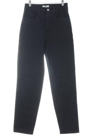 MAC Jeans Straight-Leg Jeans dunkelblau Casual-Look