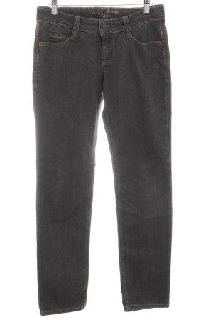 MAC Jeans Straight-Leg Jeans graubraun Casual-Look