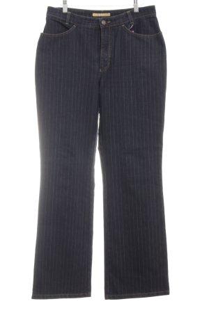 MAC Jeans Jeansy z prostymi nogawkami czarny-w kolorze białej wełny