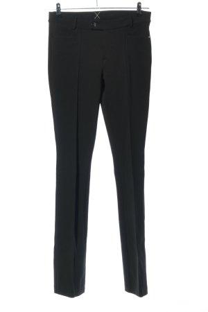 MAC Jeans Pantalon strech noir style d'affaires