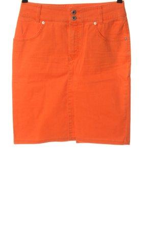 Mac Falda vaqueras naranja claro look casual